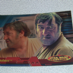 Star Wars Evolution topps 2001 Wuher Foil card